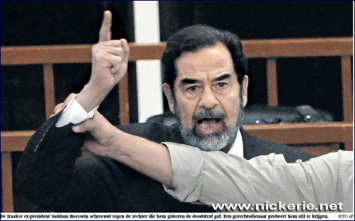 Nickerie Saddam Hoessein