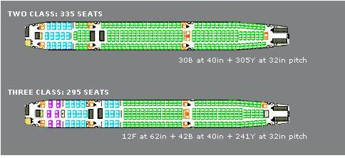 vier motorig passagiersvliegtuig